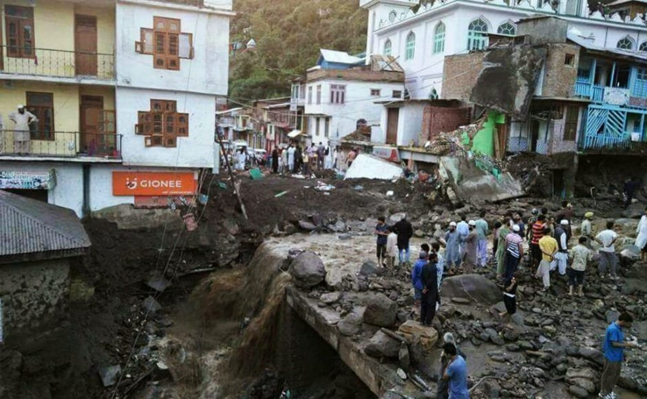 Killed In Cloudburst In Jammu And Kashmir's Doda