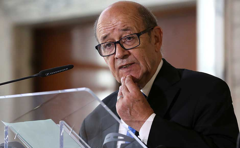 French foreign minister Jean-Yves Le Drian visited Qatar at the start of a Gulf tour aimed at helping defuse the crisis pitting Qatar against Saudi Arabia, the United Arab Emirates, Bahrain and Egypt. He later flew to Jeddah for talks with Saudi officials. Reuters