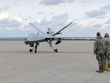 File Image Of MQ 9 Reaper Reuters