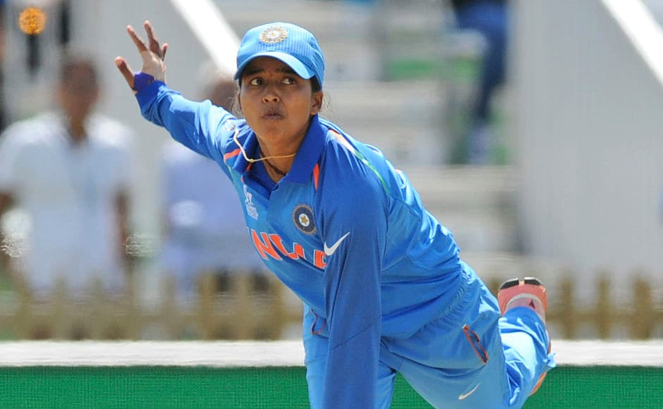 But, the Pakistan batting line-up capitulated to the spin of Ekta Bisht who claimed her second 5-wicket haul. AP