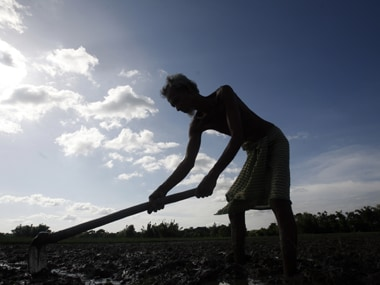 Farmer. Representational image. Reuters