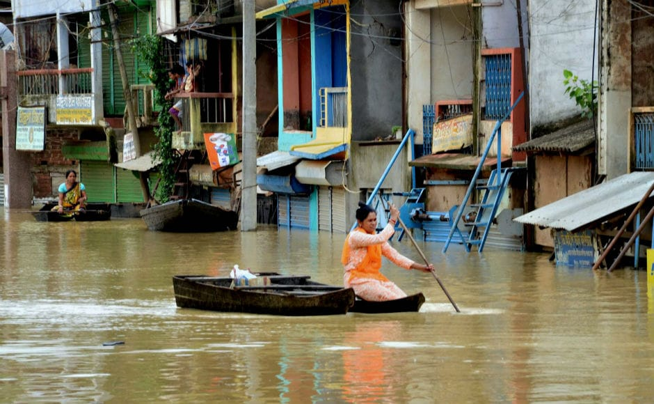 Rivers Silabati in West Midnapore, Darakeswar in Bankura and Dwaraka in Birbhum are flowing above danger level, flooding areas in Birbhum, Purulia, West Midnapore and Hooghly districts. PTI