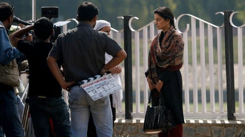 A film shoot in progress. Photo for representational purpose only. Reuters Image