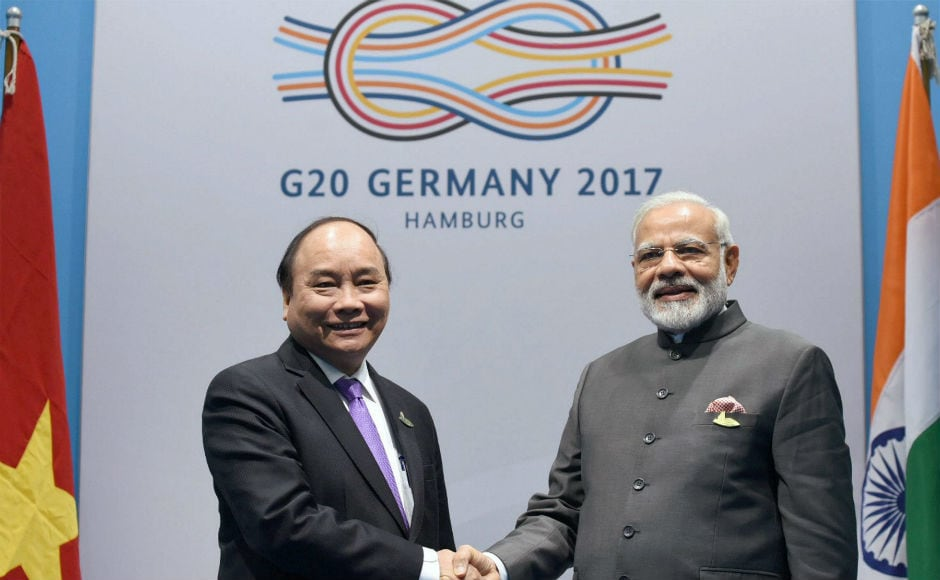 On the first day of the Summit, Modi held bilaterals with Japan's Shinzo Abe and Canada's Justin Trudeau. PTI