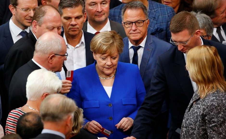German Chancellor Angela Merkel voted against the bill. Merkel did so since she believed that marriage, under German law, can only be between a man and a woman. But she added that her decision was a personal one. Merkel had become convinced in recent years that same-sex couples should be allowed to adopt children. Reuters