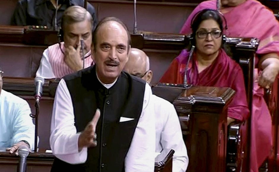 Leader of Opposition Ghulam Nabi Azad said that the government has got a mandate to protect the Dalits and minorities and for development. PTI