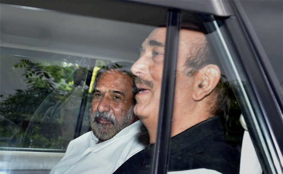 "After the meeting which took place at Rajnath Singh's residence, Ghulam Nabi Azad of Congress said that all opposition parties assured the government that when it comes to territorial integrity of the country ""we should all stand united"". PTI"