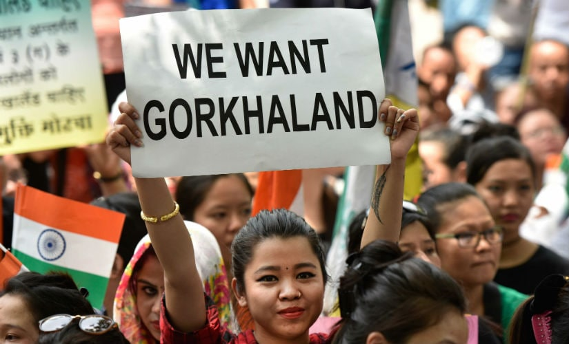 Gorkhaland movement has gained traction in the last few weeks. Getty images