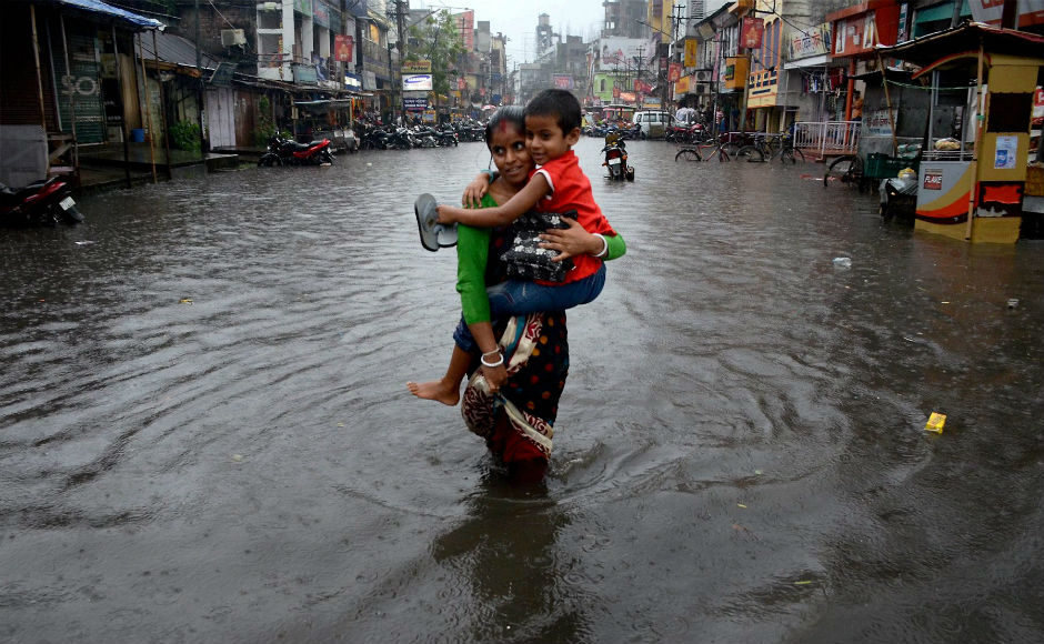 Monsoon showers have wrecked havoc across India, with floods in Assam killing at least 39 people. The IMD has predicted normal monsoon in the country this year. PTI