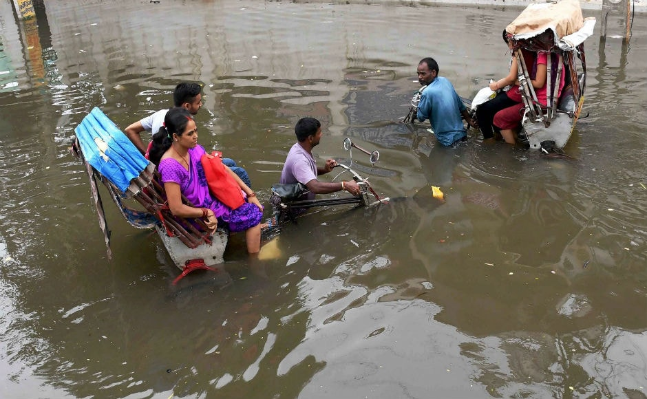 Apart from Assam, heavy rains have created flood-like situation in several parts of Bihar and Uttar Pradesh. PTI