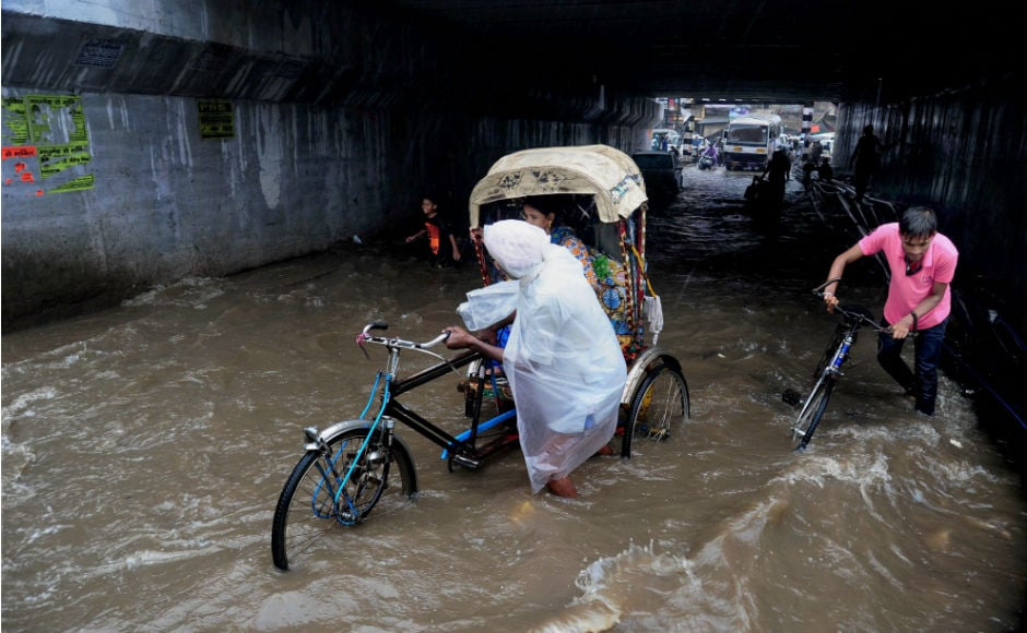 Heavy rains in Bihar have been accompanied by lightening, which has killed over 20 people since Sunday. PTI