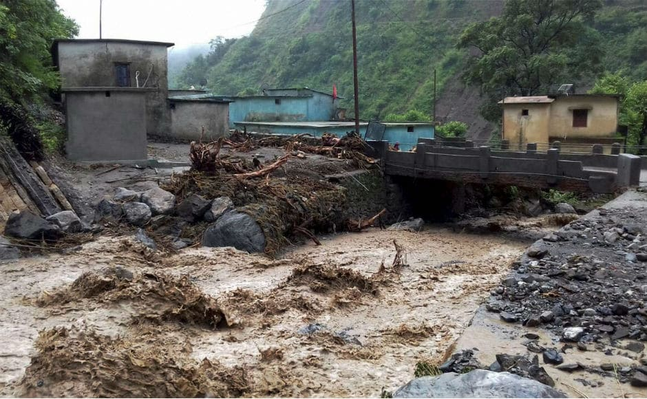 Rains have been lashing Arunachal Pradesh for the last four days triggering landslides and flash floods in various parts of the state. PTI