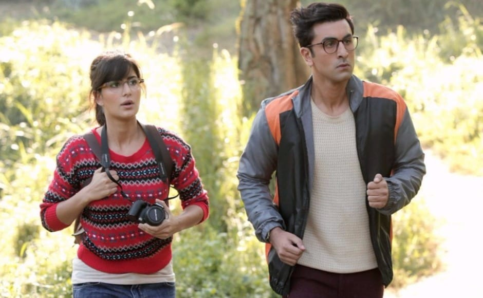 Katrina Kaif's character Shruti has been given just the right amount of dialogue and screen time so that her onscreen presence is enjoyable. Kaif takes on the role of the 'goofball' with ease; however the 'clumsiness' of her character seems slightly overdone. Image via Facebook