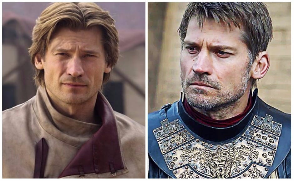 Who remembers the Jaime Lannister who callously pushed Bran Stark off the tower at Winterfell, quipping: 'The things we do for love'. The Jaime of now is short one hand, and that devil-may-care attitude.