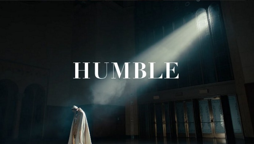 A still from 'HUMBLE'.