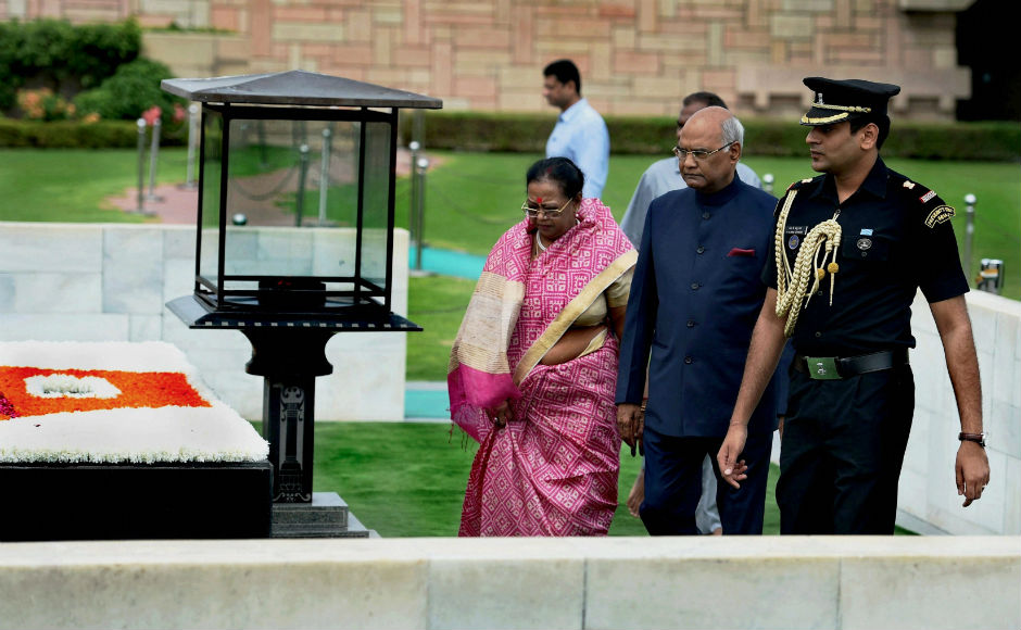 """""""Each citizen of India is a nation builder. Each one of us is a custodian of India's well-being and of the legacy that we will pass on to coming generations,"""" Kovind said."""