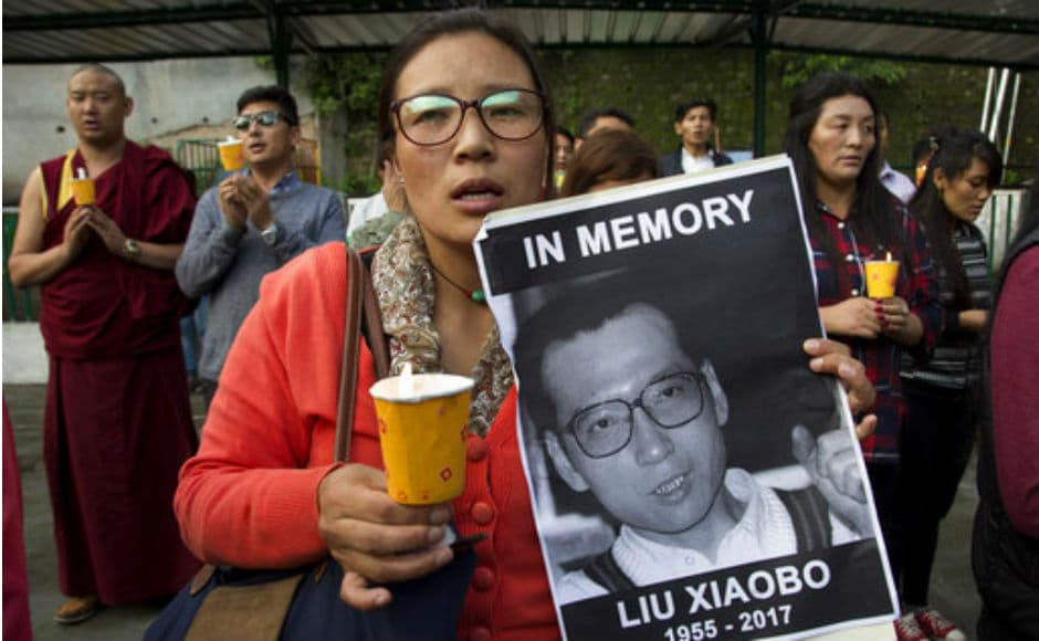 Nobel laureate Xiaobo's ashes were scattered at sea on Saturday, triggering speculations that the Chinese government wanted to effort to erase any memory of him. AP