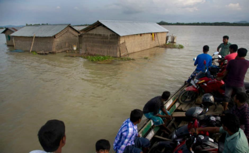 Heavy rains have been lashing parts of the Northeast for the past two weeks. Around 15 lakh people in 24 districts of Assam were hit by floods. The death toll has reached 45 in the state with the Centre deploying officials of the National Disaster Response Force, NITI Aayog and National Disaster Management Authority. AP