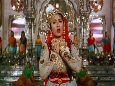 Madhubala in the colourised version of Mughal-e-Azam. File image.