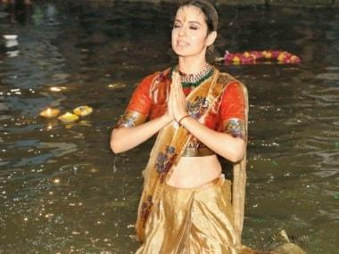 Kangana Ranaut at the launch of Manikarnika: The Queen of Jhansi