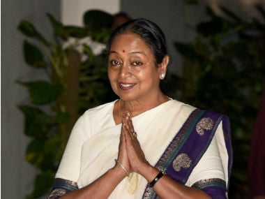 Oppositions's presidential candidate Meira Kumar. PTI