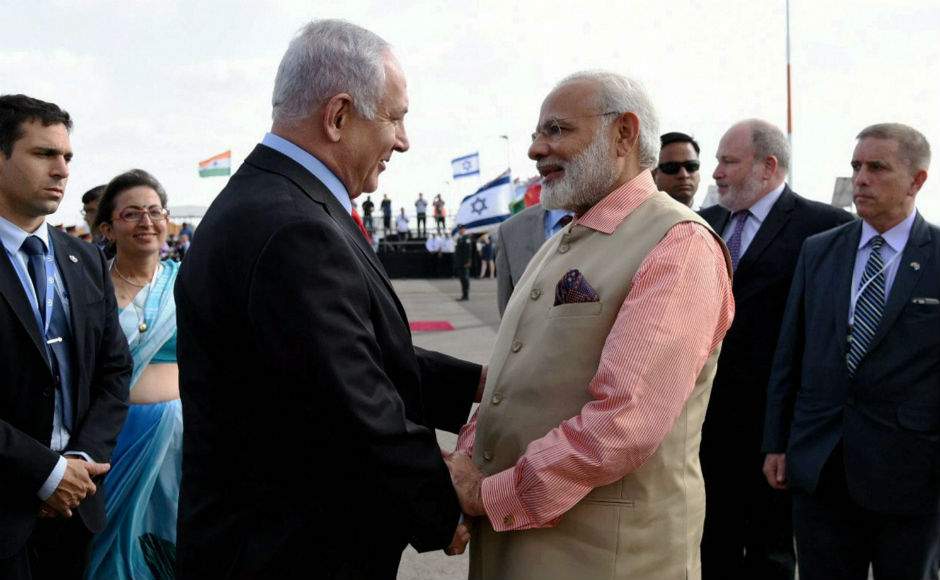 After his historic Israel visit, Modi arrived in Germany on Thursday for the annual G20 Summit at Hamburg. PTI
