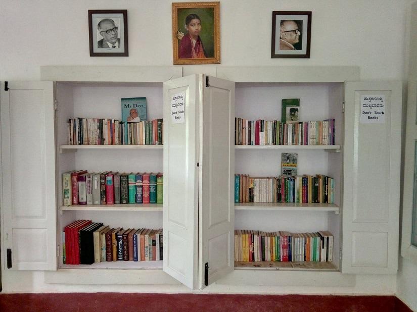 Inside RK Narayan's home