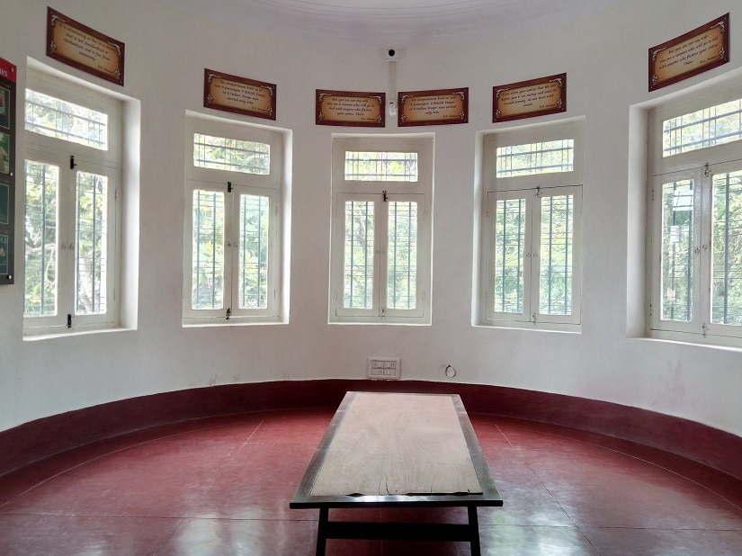 The room with the 180-degree view