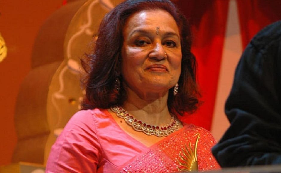 Asha Parekh was given the Outstanding Contribution in Indian Cinema award in Dubai in 2006