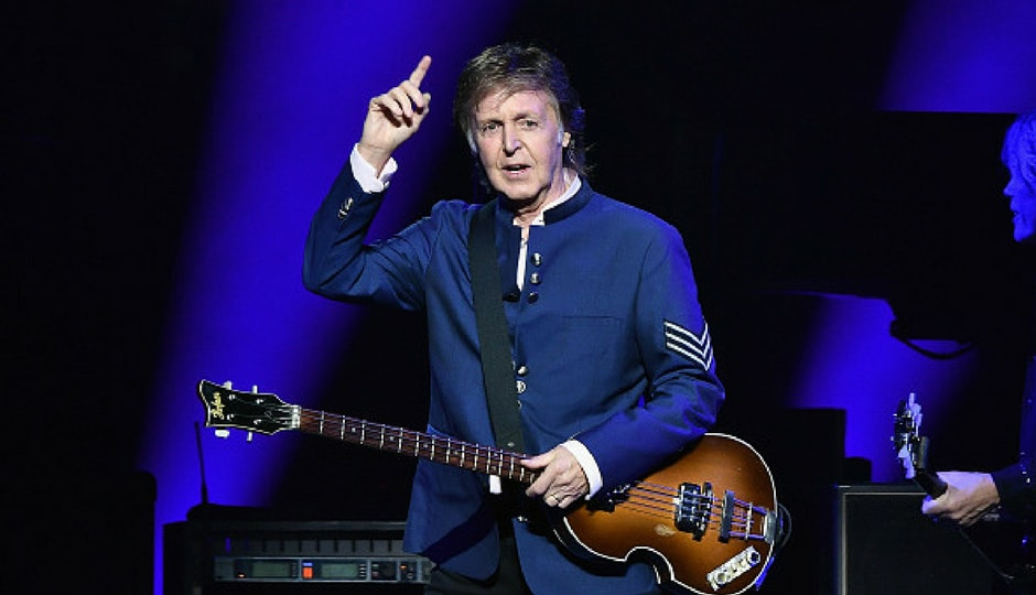 Paul McCartney performs in concert at American Airlines Arena in Miami, Florida. (Getty Images)