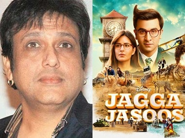 Govinda-Poster of Jagga Jasoos, File images
