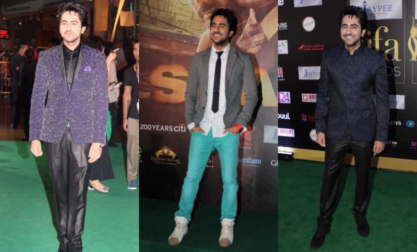 Ayushmann Khurrana. Images from Getty Images.