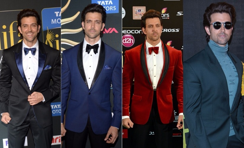 Hrithik Roshan. Images from Getty Images.