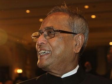 File image of President Pranab Mukherjee. Reuters