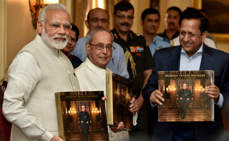 Mukherjee confessed that he was initially skeptical when the idea of the photo essay was first suggested, but was later convinced that it was necessary to archive important events for posterity. PTI