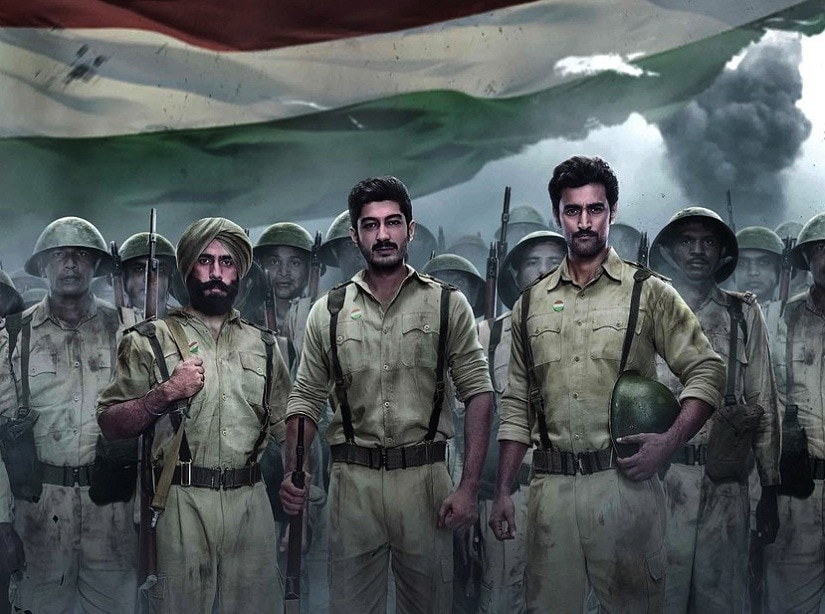 Poster for Raag Desh. Image via Twitter