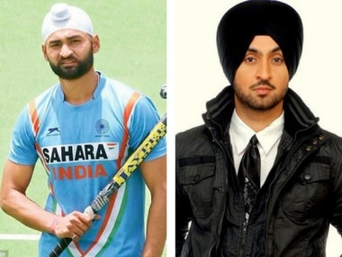 Sandeep Singh and Diljit Dosanjh. Images via Facebook