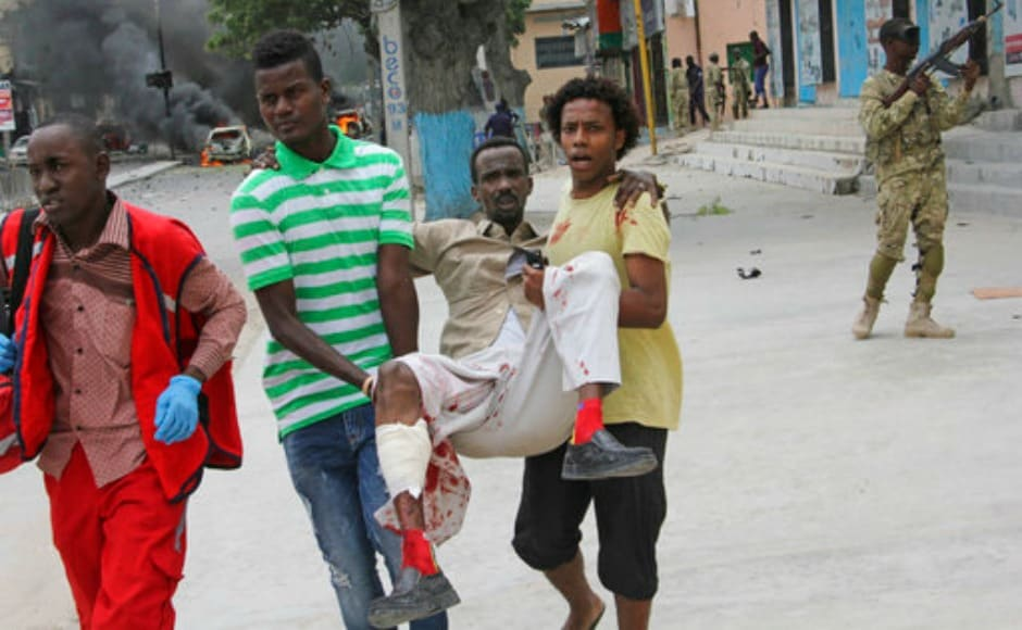 The Somalia-based extremist group al-Shabab often carries out deadly bombings in Mogadishu. AP
