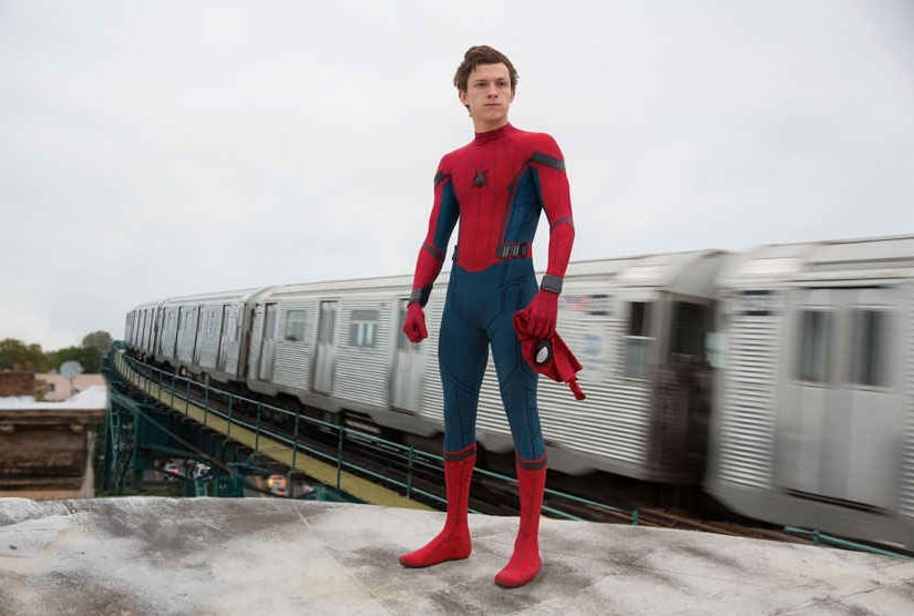 A still of Tom Holland from Spider-man: Homecoming. Image from AP.