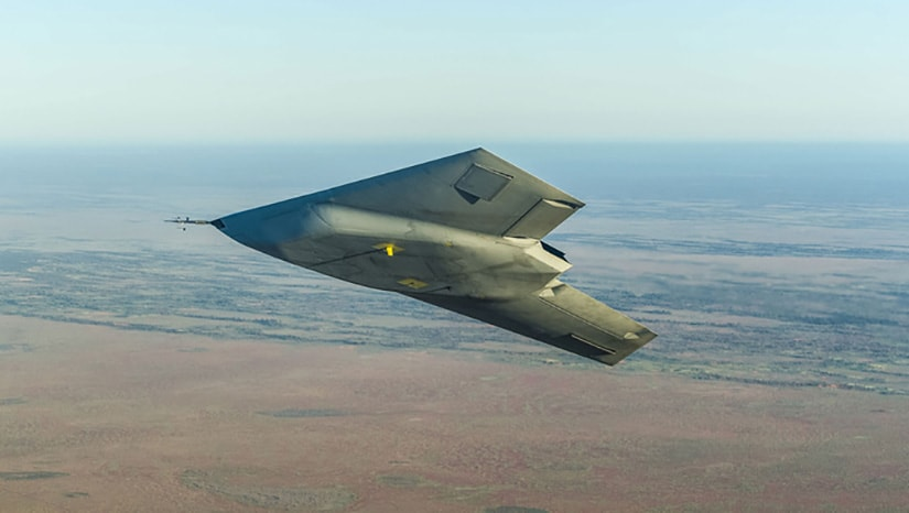 The Taranis combat drone by BAE systems.