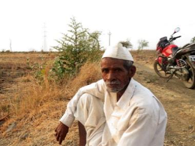 Raosaheb Walke of Yellori village. Photo courtesy: Parth MN