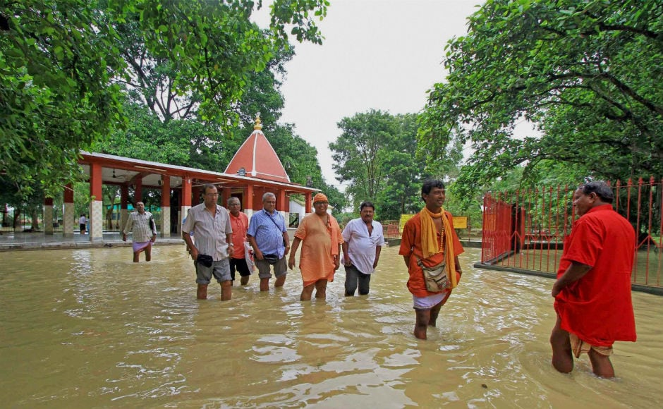 IMD officials have ruled out an immediate flood threat in the state. The East Midnapur district administration, among other local bodies, has issued an alert to fishermen, warning them against venturing into the sea. PTI