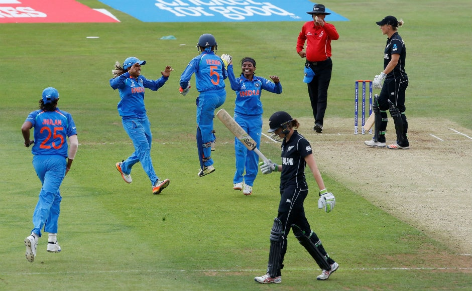 Left-arm orthodox bowler Rajeshwari Gayakwad destroyed the New Zealand batting line-up with figures of 5/15 and ensured that the White Ferns were never in the chase. Reuters