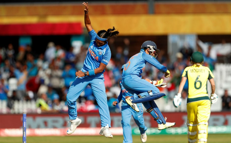 India registered a fantastic 36-run win in the semi-finals over favourites and six-time world champions Australia. This was after the 8-wicket loss to the Australians earlier in the tournament. Reuters