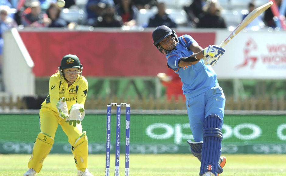 The star of the semi-final for India was Harmanpreet Kaur, who played an absolutely stunning 171 off 115 balls, studded with seven sixes and 20 fours. AP