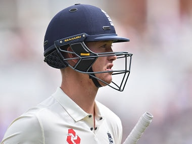 England's Keaton Jennings reacts as he walks back to the pavilion after losing his wicket for 48 during play on day 4 of the third Test match between England and South Africa at The Oval cricket ground in London on July 30, 2017. / AFP PHOTO / Glyn KIRK / RESTRICTED TO EDITORIAL USE. NO ASSOCIATION WITH DIRECT COMPETITOR OF SPONSOR, PARTNER, OR SUPPLIER OF THE ECB