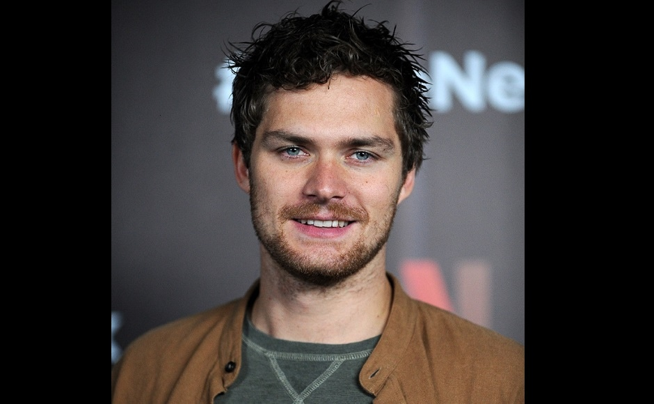 Finn Jones from the cast of Marvel's The Defenders poses for photographs during a Netflix Red Carpet #ViveNetflix in Mexico City, on 2 August, 2017. Image via AFP