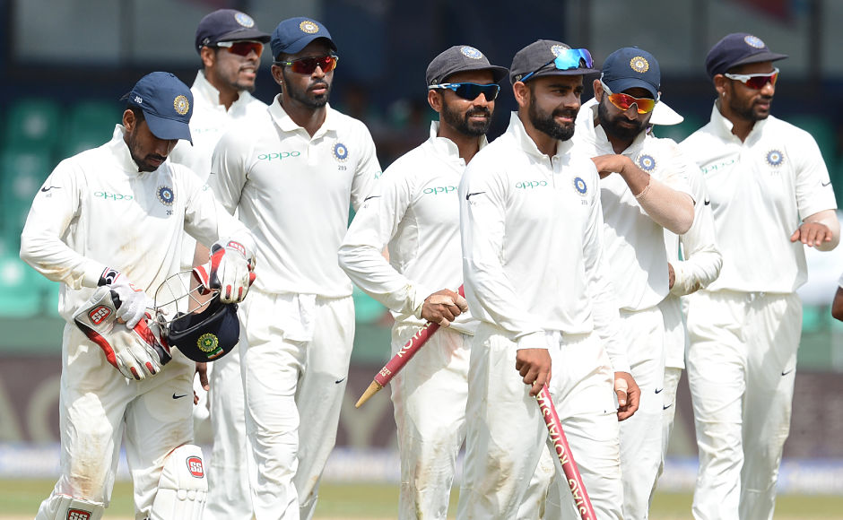 All round team performance helped India win the 2nd Test against Sri Lanka by an innings and 53 runs on Day 4 at the Sinhalese Sports Club (SSC) Ground in Colombo. India seal series 2-0 with one Test left to be played. AFP