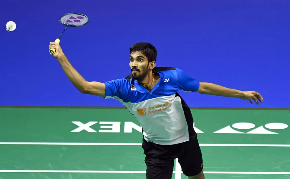 Srikanth, Sindhu, Saina in in action on Day 5