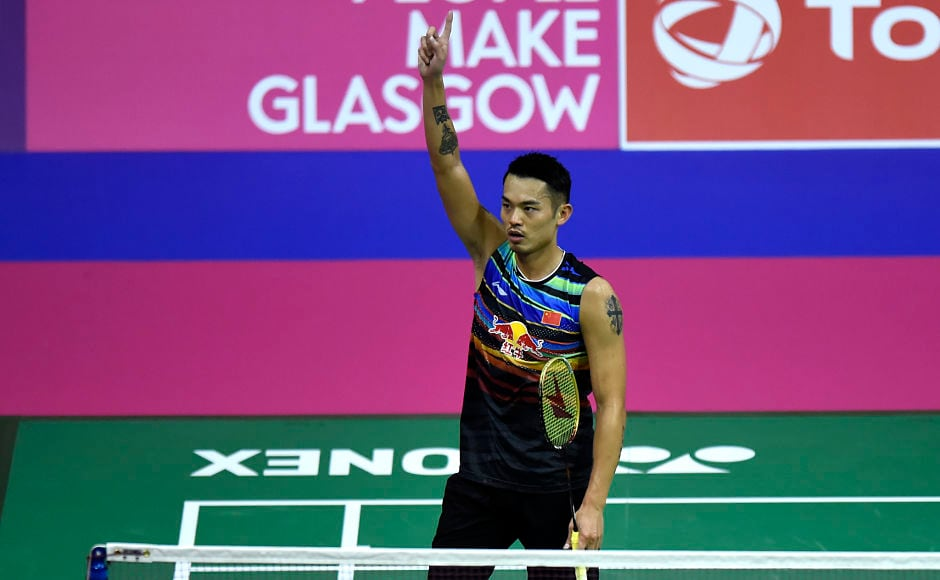 Axelsen topples Lin in badminton final; Okukara wins classic